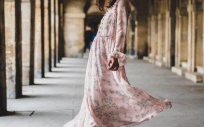 Mes essentiels du printemps. Épisode 3 :  La robe fleurie